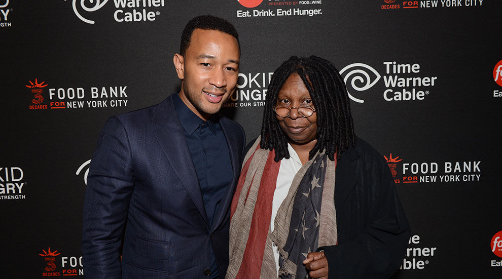 John Legend, Whoopi Goldberg